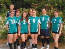 Das Team mit Coach M. Zimmer