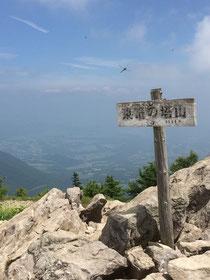 東篭ノ登山山頂