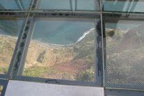 Blick durch den Skywalk