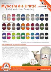 MyBoshi Nr. 3 100% Merino-Wolle
