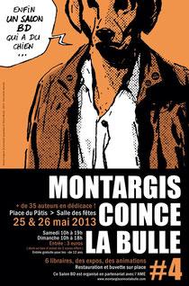 © Thierry Murat / Montargis coince la bulle 2013