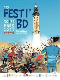 © Jean-Claude Fournier / Festi' BD Moulins 2013