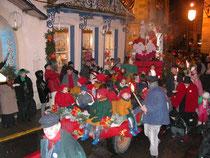 Défilé Saint Nicolas à Plombières Les Bains