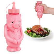 BBQ Pig Condiment Bottle バーベキューピッグボトル