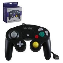 Gamecube Style USB Controller (Black) ゲームキューブスタイル USBコントローラー(ブラック)