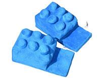Building Block Slippers (Blue) ブロックスリッパ(ブルー)