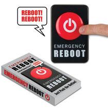 Emergency Reboot Button エマージェンシーリブートボタン