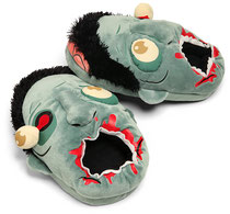 Plush Zombie Slippers ぬいぐるみゾンビスリッパ