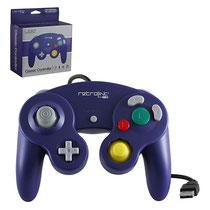 Gamecube Style USB Controller (Purple) ゲームキューブスタイル USBコントローラー(パープル)