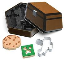 Minecraft Cookie Cutters マインクラフト クッキーカッターセット