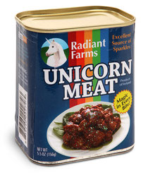 Canned Unicorn Meat 缶詰ユニコーンミート