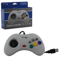 Saturn Style USB Controller (Grey) サターンスタイル USBコントローラー(グレー)
