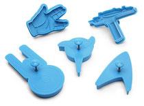 Star Trek Cookie Cutters スタートレック クッキーカッターセット