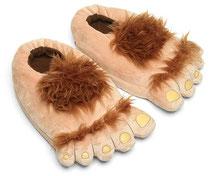 Furry Adventure Slippers ファーリー毛むくじゃら足スリッパ