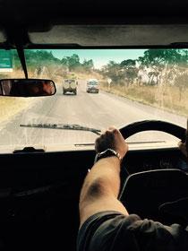 Fahrt von Mbalizi nach Mbeya