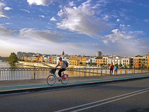 Sevilla en carril bici...