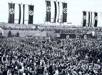 Acto oficial del nazismo, 1933 Tempelhofer-Berlín
