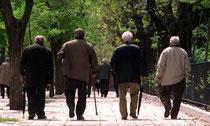 El envejecimiento de la población española.
