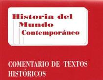 Comentario de textos históricos en Hiª del Mundo Contemporáneo.