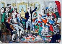 Rouget de Lisle canta La Marsellesa por primera vez.