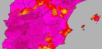 El agosto cacereño más caluroso del s-XXI.