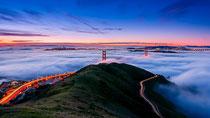 San Francisco bajo la niebla