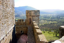 Los castillos, atalayas de Extremadura.