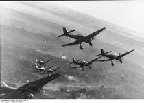 La Luftwaffe durante la Blitzkrieg