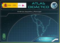 Atlas didáctico de América, España y Portugal.