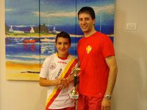 Antonio La Torre vincitore del torneo Under 15