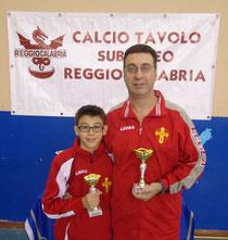 Currò e Diletti finalisti torneo Esordienti