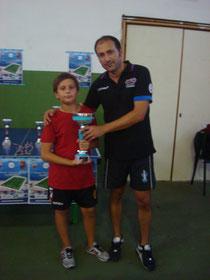 Pietro Russo finalista Under 15