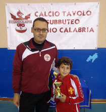 Riccardo Natoli 2° classificato Under 12