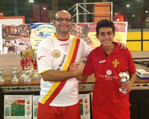 Zagarella terzo classificato Cat. Under 19