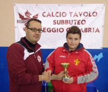 Andrea Zangla vincitore Under 15