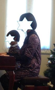 子どものピアノクリスマス会