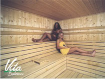 sauna im ftnesstudio vita-balance in bad bevensen, wellness