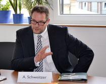 Gesundheitsminister RLP Alexander Schweitzer/ Foto Anja Knauber