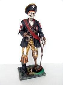 réplica pirata esqueleto