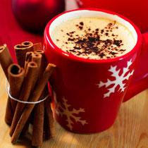 Kaffee, Café, Cospudener See, Winter, Weihnachten