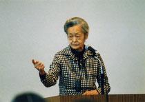 2003年、咢堂塾での講演