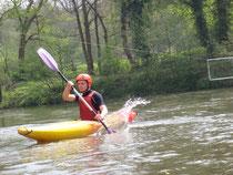 kayak eau calme base nautique Picquigny Somme Picardie