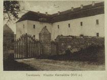 Келії монастиря фото початку XX ст.