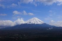 春の富士山です♪