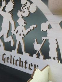 Hier der Hundehaufen im Detail - nicht wegzudenken aus der Dresdner Neustadt