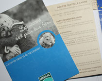 documents pour l'achat d'un chiot