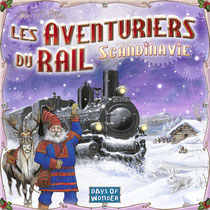 (illus. Julien Delval, Les Aventuriers du rail - Scandinavie, (c)Days of Wonder)