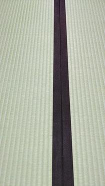 畳縁は、綿縁栗茶色を使用しました。