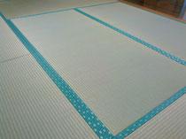 建材床、熊本産表で新畳を納品しました。