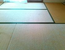 施工前の畳です。